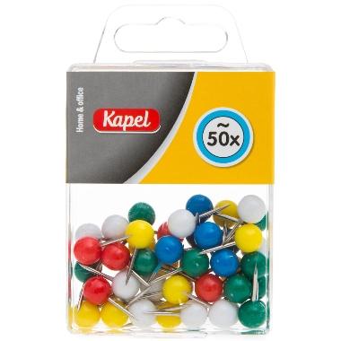 Piespraudes krāsainas bumbiņas, Kapel, 50 gab.