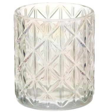 Svečturis stikla hameleons Diana, 8,5x10 cm, 1 gab.
