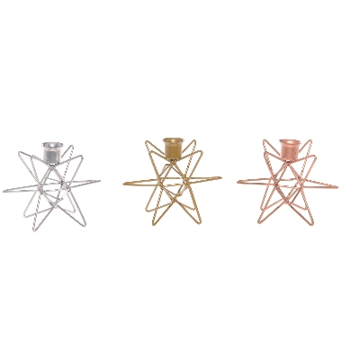 Svečturis Zvaigzne, Ø 12,5 cm, 1 gab.