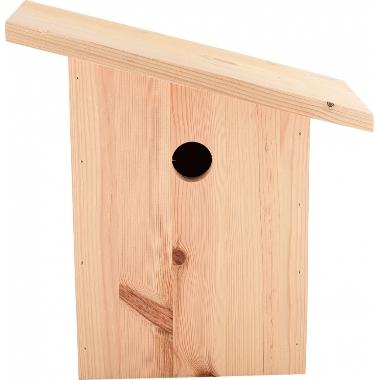 Putnu būris ar slīpu jumtu, 18x21x29 cm