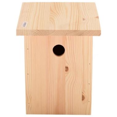 Putnu būris koka, kantains, 17x15x32 cm