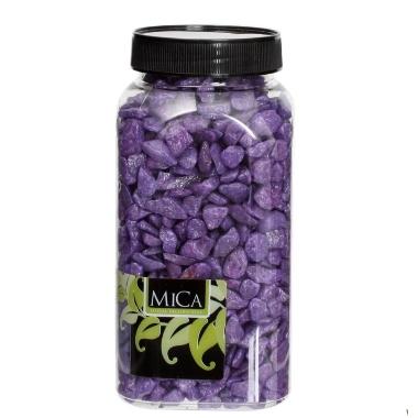 Dekoratīvi akmentiņi violeti Mica, 1 kg
