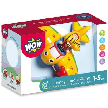 Lidmašīna rotaļu Johnny, WOW toys