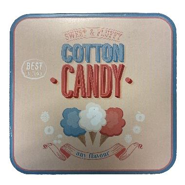 Metāla uzglabāšanas kārba Candy, bēša, Ø 15,5 cm