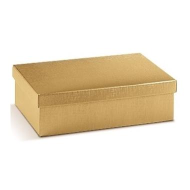 Dāvanu kastīte Seta Oro zelta, 9,5x6,5x4 cm
