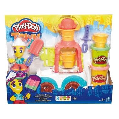 Plastilīna komplekts saldējumu mašīna, Play-Doh