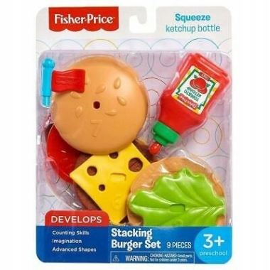 Hamburgers, Fisher Price
