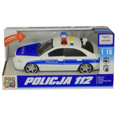 Policijas auto ar skaņu