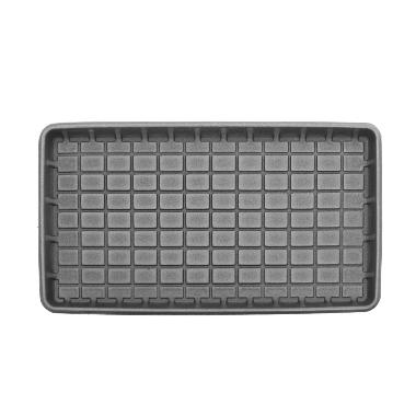 Automašīnas paklājs-paliktnis, melns, 50x90 cm