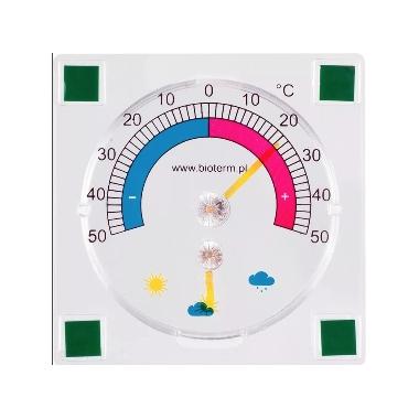 Termometrs Bioterm, kantains, 9x9 cm