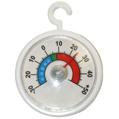 Termometrs ledusskapim apaļš, Ø 52 mm