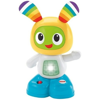 Rotaļlieta attīstoša ar skaņu Beatbo Mini, Fisher Price, dzeltena