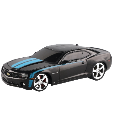 Rotaļlieta Chevrolet Camaro 2010 ar pulti, melns