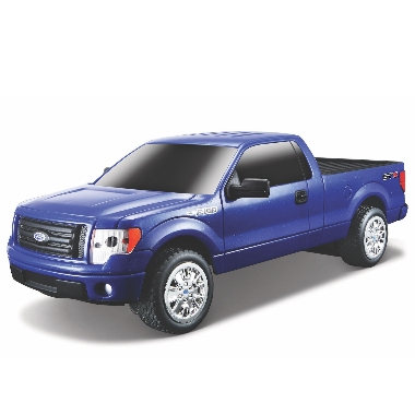 Rotaļlieta džips Ford Dodge Challenger 2006 ar pulti, zils