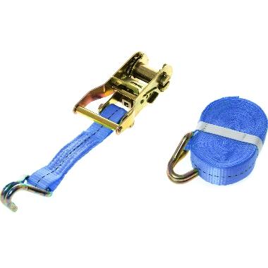 Kravu nostiprināšanas siksna Carman zila, 6m x 25mm, 1000 kg