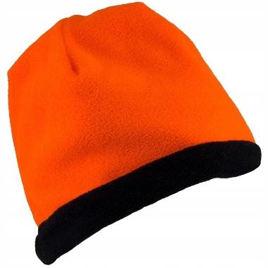 Ziemas cepure divpusēja Polar URG-501, oranža-melna