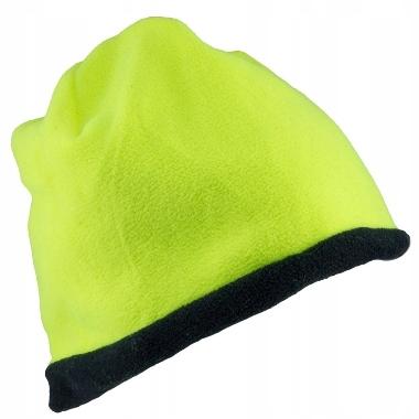 Ziemas cepure divpusēja Polar URG-501, dzeltena-melna