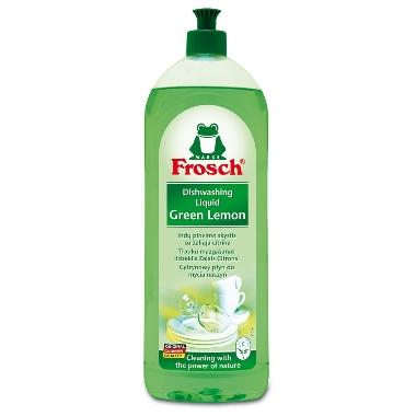 Trauku mazgāšanas līdzeklis ar citronu ekstraktu, Frosch, 1 L
