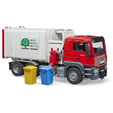 Rotaļu atkritumu auto MAN TGS, Bruder