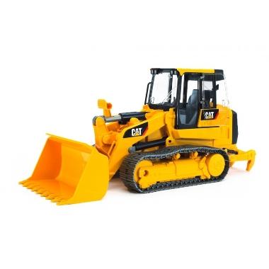 Rotaļu buldozers ar kausu CAT, Bruder
