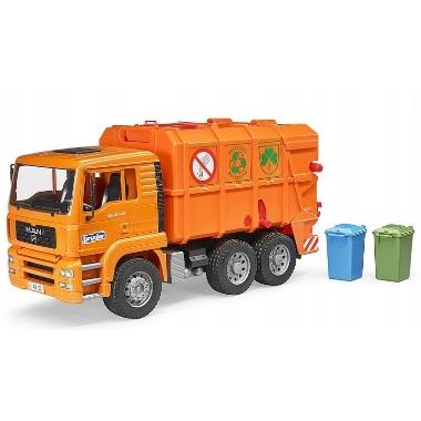 Rotaļu atkritumu auto MAN, Bruder