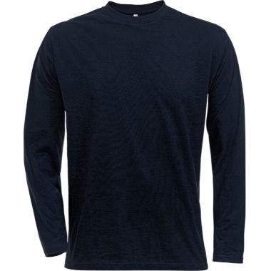 T-krekls 1914 ar garām piedurknēm tumši zils, Fristads