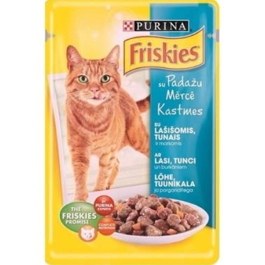 Kaķu konservi ar lasi, Friskies, 85 g