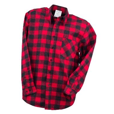 Krekls flaneļa sarkans, Urgent