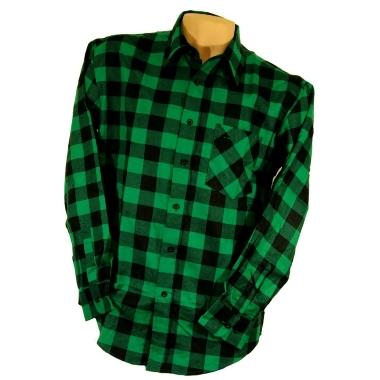 Krekls flaneļa zaļš, Urgent