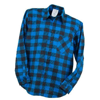 Krekls flaneļa zils, Urgent