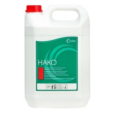 Skābs slaukšanas ierīču un piena vadu mazgāšanas līdzeklis Hako, 5 L