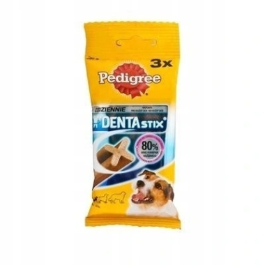 Suņu kauliņš Dentastix, Pedigree, 3 gab.