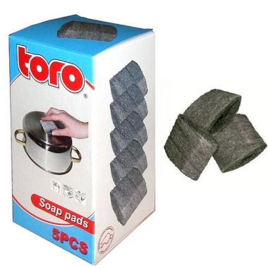 Katliņu beržamie piesūcināti Toro, 5 gab.