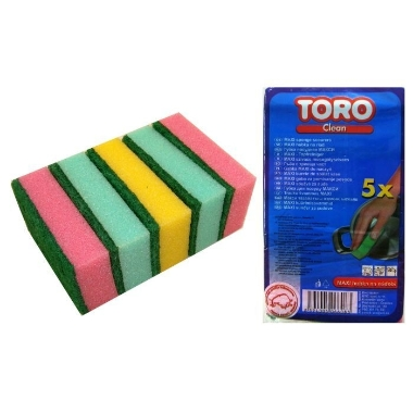 Trauku švammes, Toro, 5 gab.