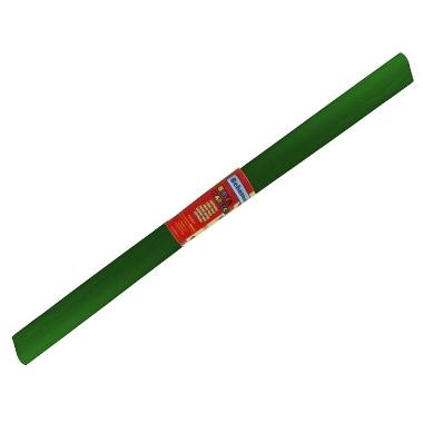 Kreppapīrs tumši zaļš, 50 x 200 cm
