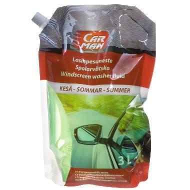 Vasaras vējstiklu mazgāšanas šķidrums, Carman, 3 L