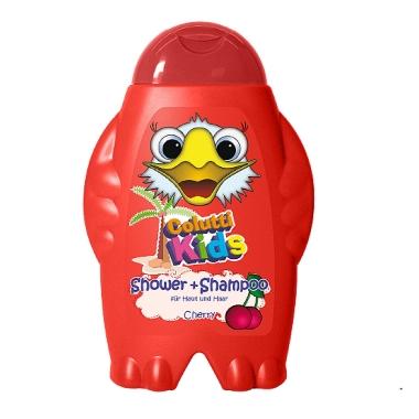 Dušas želeja/šampūns bērniem ķiršu, Colutti Kids, 300 ml