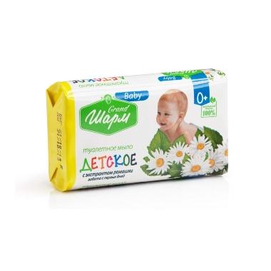 Bērnu ziepes ar kumelīšu ekstraktu Grand Šarm Baby, 125 g