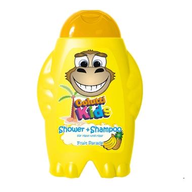 Dušas želeja/šampūns bērniem augļu, Colutti Kids, 300 ml