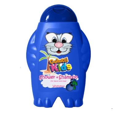 Dušas želeja/šampūns bērniem melleņu, Colutti Kids, 300 ml