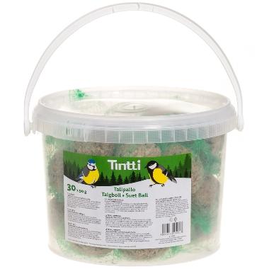 Barības bumbas putniem Tintti, 90 g x 30 gab.