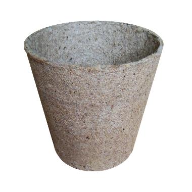 Kūdras pods apaļš, 8 cm