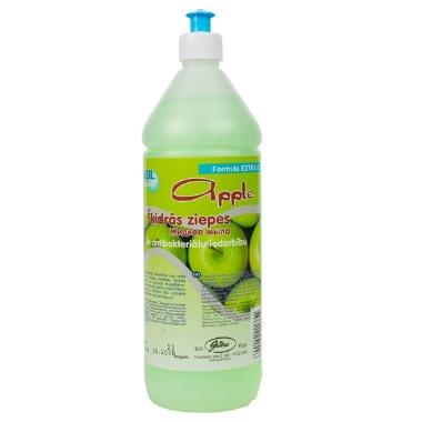 Antibakteriālas šķidrās ziepes ābolu Ewol, 1 L