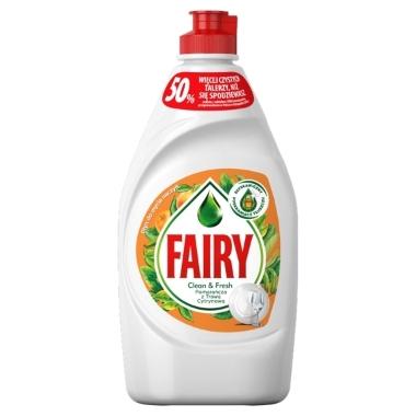 Trauku mazgāšanas līdzeklis Orange Fairy, 450 ml