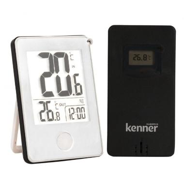 Bezvadu iekštelpu un āra termometrs, Kenner, DT-308W