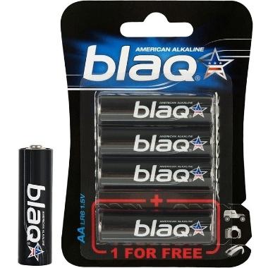 Baterijas Blaq AA, 1.5 V, 4 gab.