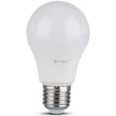 Spuldze LED V-TAC A60, E27, 9W, 806lm, 58x106mm