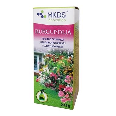 Dārznieka komplekts Burgundija, augu kopšanai, 225 g
