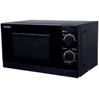 Mikroviļņu krāsns Sharp R200BKE, 800 W, melna