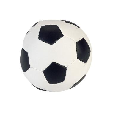 Rotaļlieta suņiem futbola bumba Soft, 11 cm
